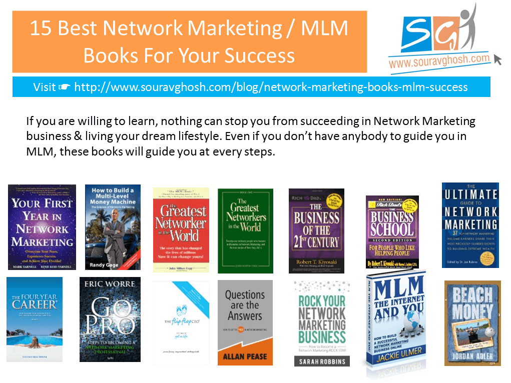 15 Best Network Marketing / MLM Books For Your Success