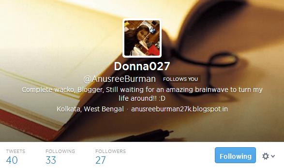 Donna027 AnusreeBurman on Twitter