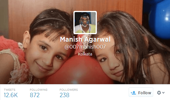 Manish Agarwal 007manish007 on Twitter