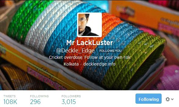 Mr LackLuster Deckle_Edge on Twitter