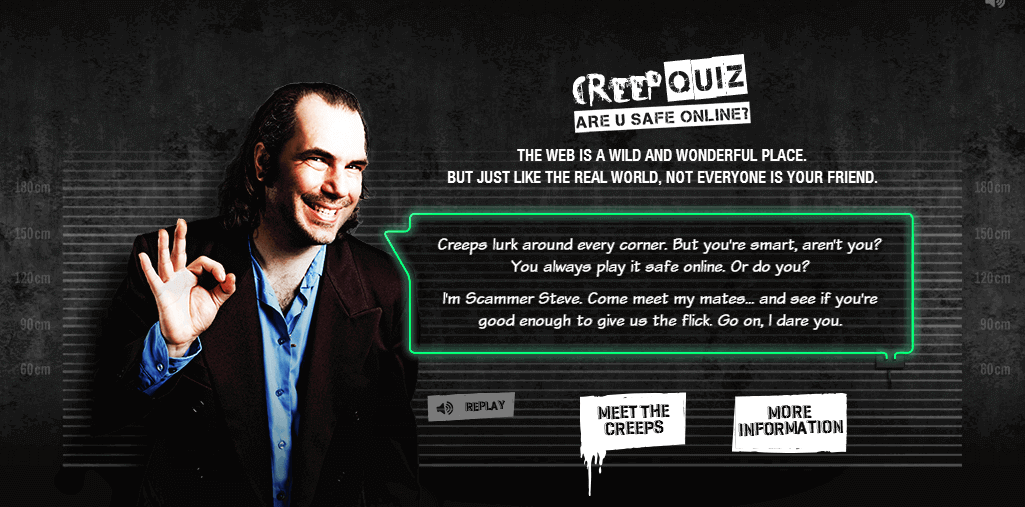 Creep Quiz : Are you safe online?