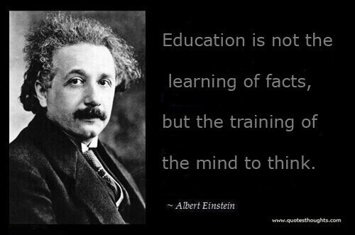 An Alternate Educational System for Parents Who Dare & Care  Albert Einstein Quotes About Education