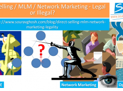 Direct Selling / MLM / Network Marketing - Legal or Illegal?