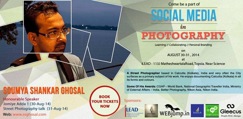 Soumya Shankar Ghosal Social Media in Photography