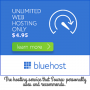 Best Unlimited Web Hosting from BlueHost