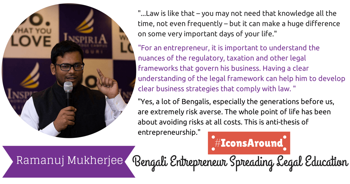 Ramanuj Mukherjee #IconsAround Interview