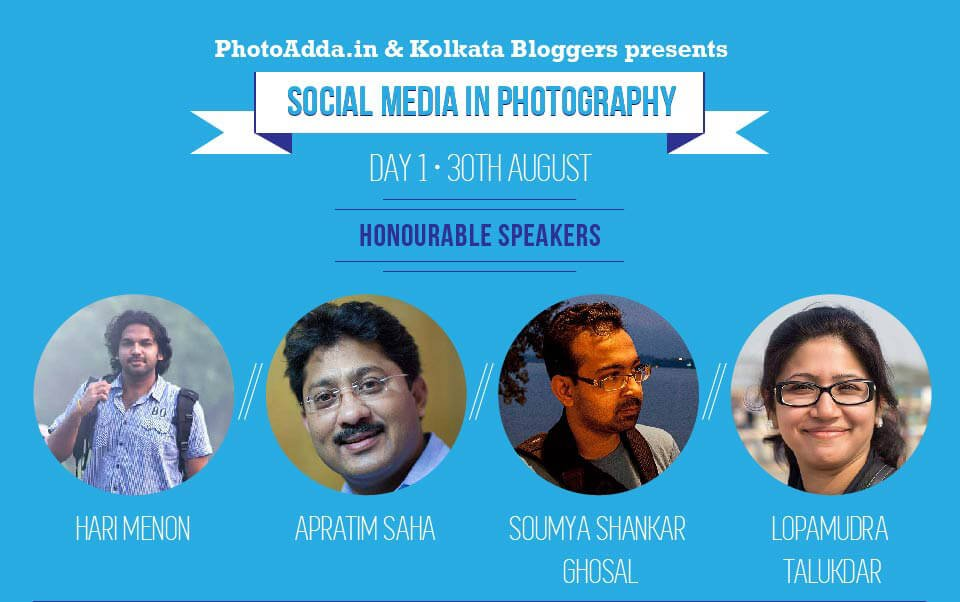 Social Media in Photography Day 1 Speakers