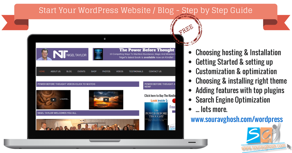 Start Your WordPress Website Blog Step by Step Guide