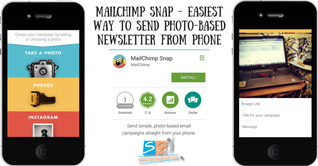Mailchimp Snap – Easiest Way to Send Photo-based Newsletter from Phone