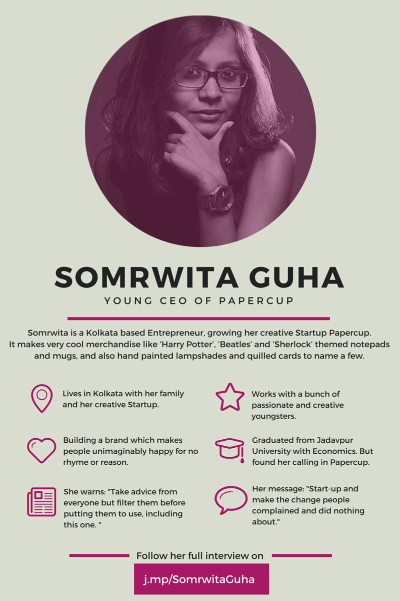 Somrwita Guha Papercup Infographic