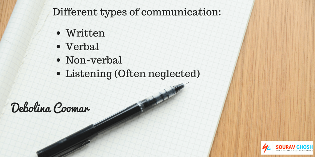 Public speaking lessons types of communication