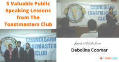 5 Valuable Public Speaking Lessons from The Toastmasters Club