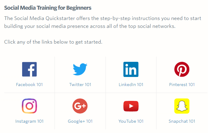Social Media Training for Beginners - Constant Contact