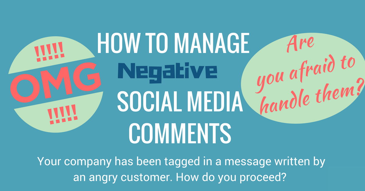 negative social media comments