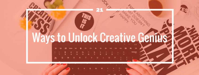 Unlock Creative Genius