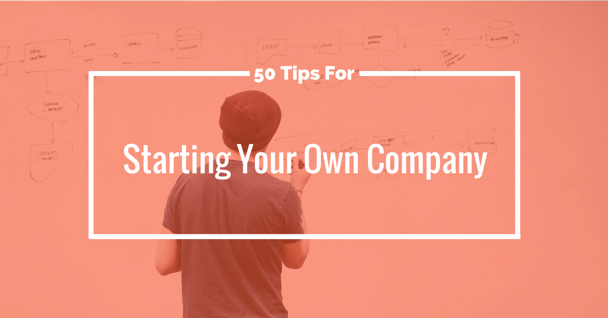 start your own company