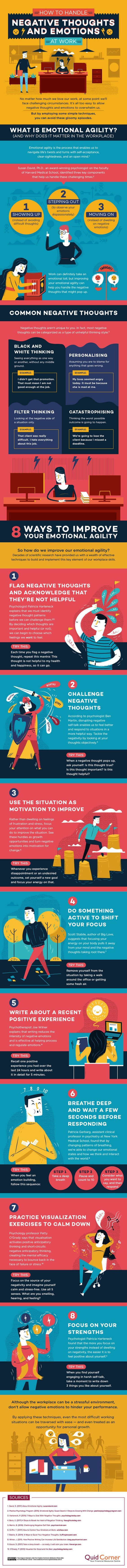 How to Handle Negative Thoughts And Emotions At Work