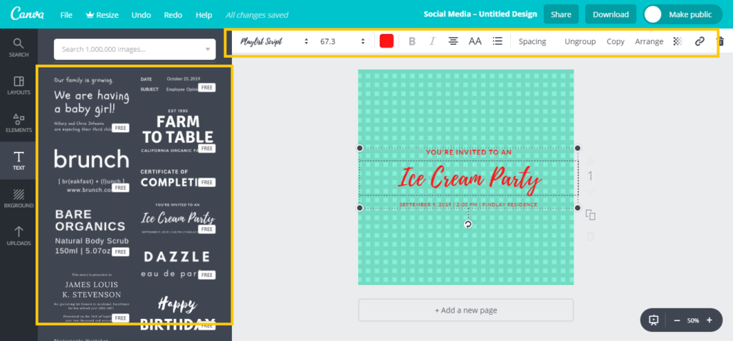 Design Great Graphics Using Canva