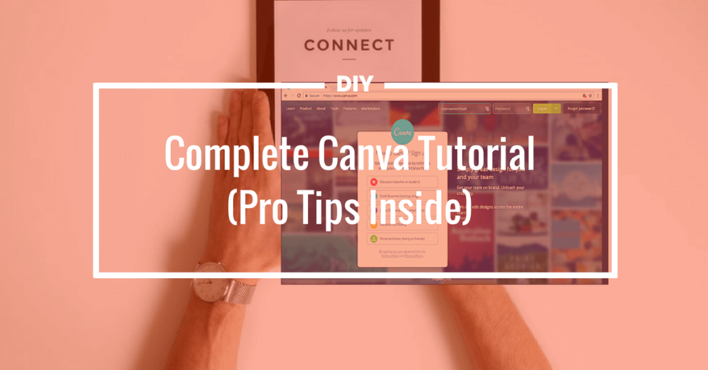 Best FREE Graphics Design App Canva Complete Tutorial For DIY