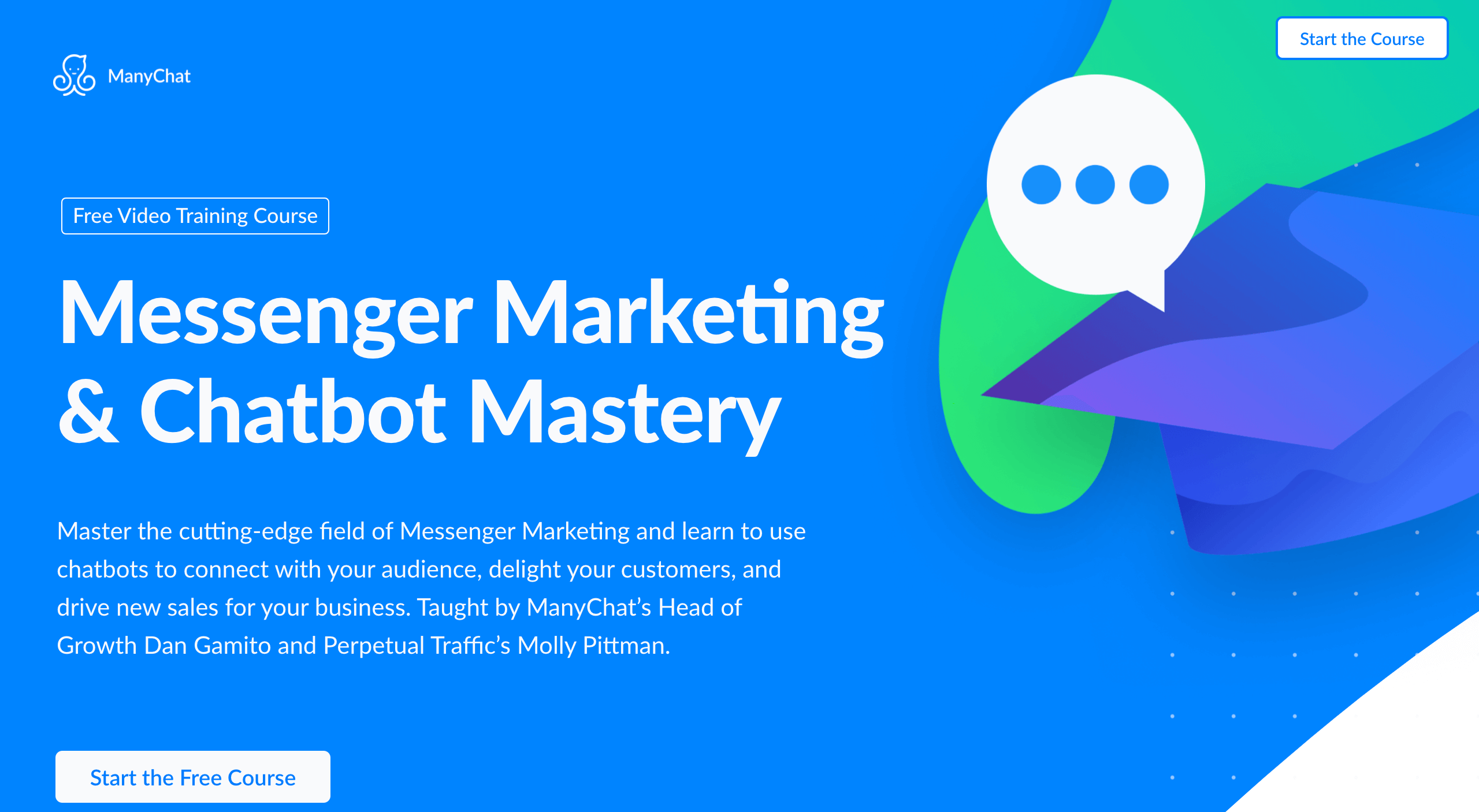 Messenger Marketing and Bot Mastery Course