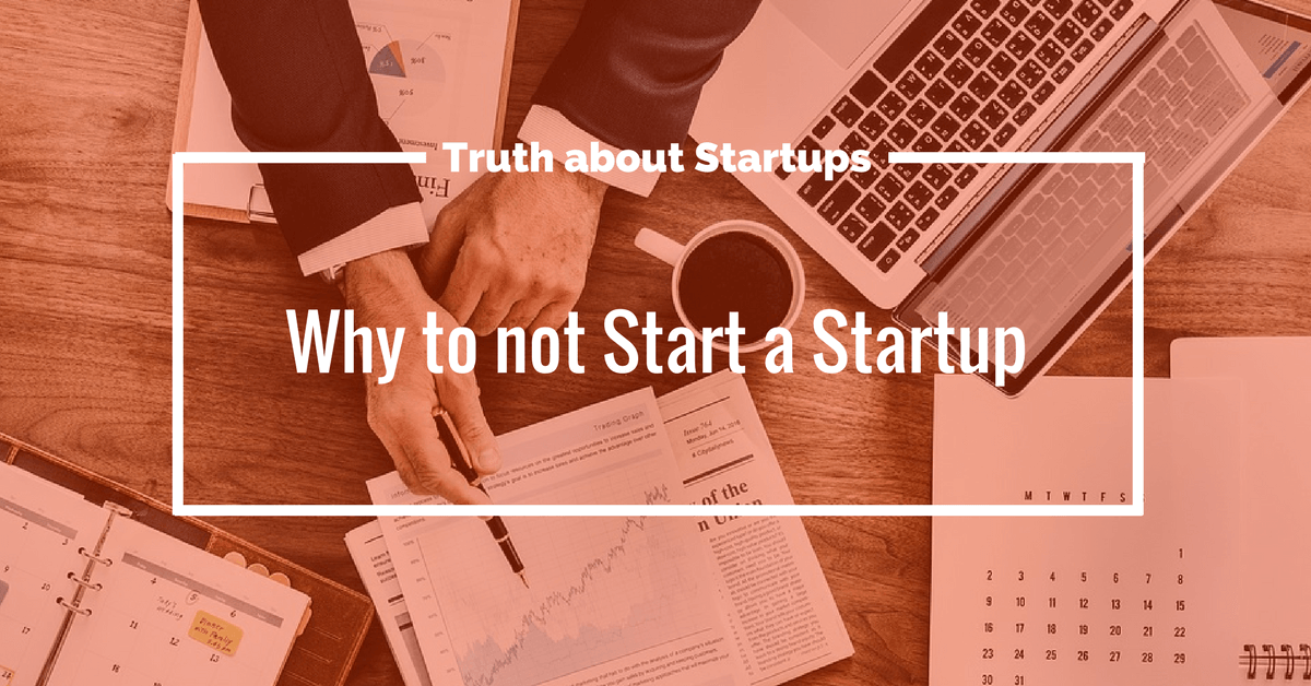 truth about startups