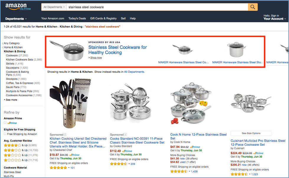 How To Sell On Amazon: Sponsored Ads